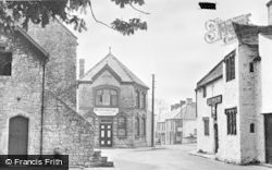 Town Hall And Old Swan Inn c.1960, Llantwit Major
