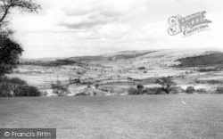 Llanuwchllyn, General View c.1960
