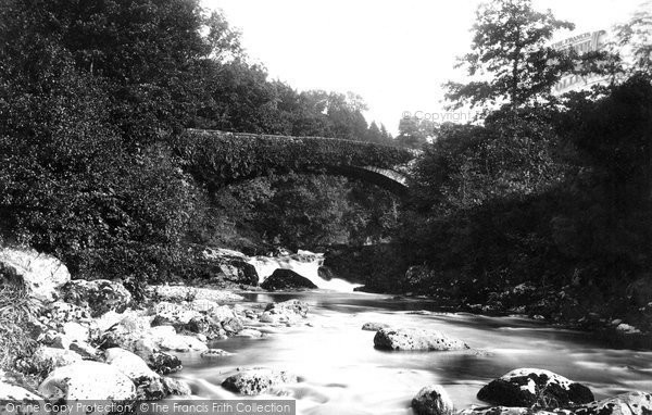 Photo of Llanuwchllyn, the Bridge 1888