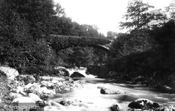 Llanuwchllyn, The Bridge 1888
