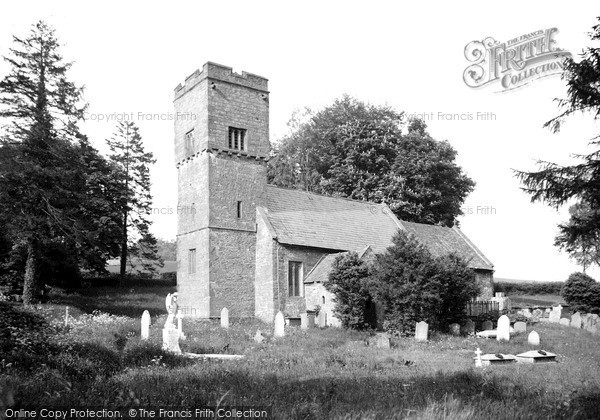 Photo of Llanvetherine, Church Of St James The Elder c.1950