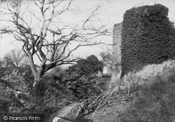 Llanvetherine, White Castle c.1890