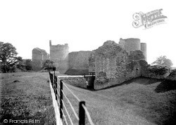 Llanvetherine, White Castle c.1950