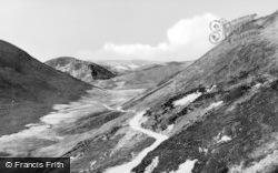 The Bala Road To Lake Vyrnwy c.1955, Llanwddyn
