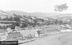 Llanwddyn, The Village And Community Centre c.1955
