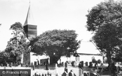 Llanwnog, Church c.1955