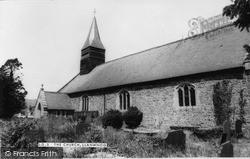 Llanwnog, Church Of St Gwynog c.1955