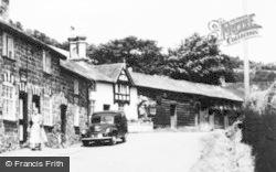 Llanwnog, Village c.1955