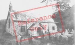 St Cwrdaf's Church c.1955, Llanwrda