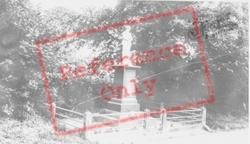 The Memorial c.1955, Llanwrda
