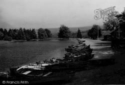 Abernant Lake c.1940, Llanwrtyd Wells