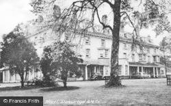 Llanwrtyd Wells, Abernant Lake Hotel c.1955
