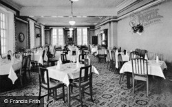 Abernant Lake Hotel, The Dining Room c.1955, Llanwrtyd Wells