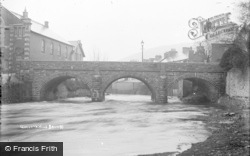Bridge c.1930, Llanwrtyd Wells
