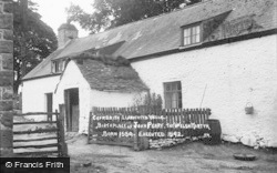 Cefnbrith, Birthplace Of Executed Welsh Martyr John Penry 1559-1592  c.1930, Llanwrtyd Wells