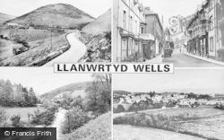 Llanwrtyd Wells, Composite c.1960