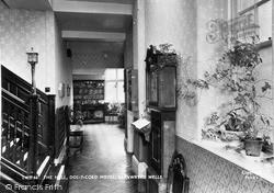 Dol-Y-Coed Hotel, The Hall c.1960, Llanwrtyd Wells