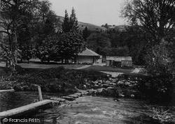 Dolecoed Pump House c.1930, Llanwrtyd Wells