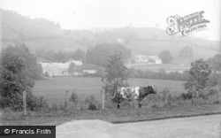 General View c.1935, Llanwrtyd Wells