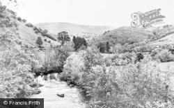 Llanwrtyd Wells, Irfon Valley c.1960