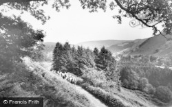 Llanwrtyd Wells, Pony Trekkers c.1960