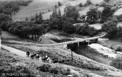 Pony Trekking c.1960, Llanwrtyd Wells