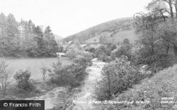 Llanwrtyd Wells, River Irfon c.1960