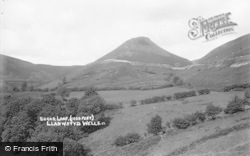 Sugar Loaf (1000ft) c.1930, Llanwrtyd Wells