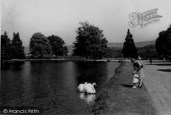 The Lake c.1930, Llanwrtyd Wells