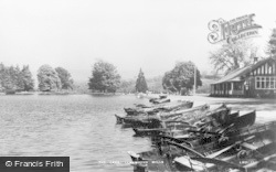 Llanwrtyd Wells, The Lake c.1935
