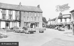 The Square c.1960, Llanwrtyd Wells