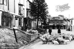 The Village c.1935, Llanwrtyd Wells