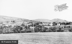 The Village c.1960, Llanwrtyd Wells
