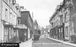 Llanwrtyd Wells, Victoria Square c.1955