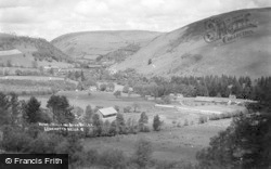 Victoria Wells And Irfon Valley c.1930, Llanwrtyd Wells