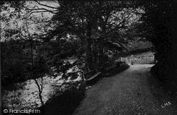 Wishing Gate And River Yrfon 1931, Llanwrtyd Wells