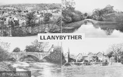 Llanybydder, Composite c.1960