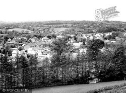 Llanybydder, General View c.1955