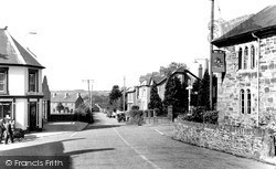Llanybydder, The Cross Roads 1949