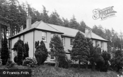 Llanybydder, The Nurses House, West Wales Sanatorium c.1950