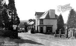 Llanybydder, The Post Office 1949