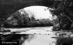 Llanybydder, The River c.1950