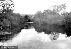 Llanybydder, The River Teifi c.1950