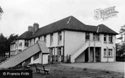 Llanybydder, The West Wales Sanatorium c.1950