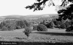 Llanybydder, View From Highmead c.1950