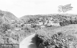 Llanychaer, General View c.1960