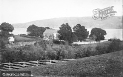 Church And Lake 1888, Llanycil