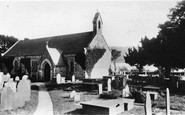 Llanycil, Church, By Bala Lake c.1935