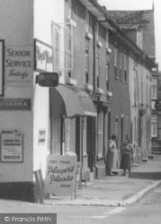 Llanymynech, Main Street, Women Chatting c.1960