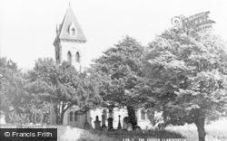 Llanymynech, St Agatha's Church c.1960